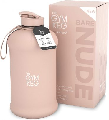 جالون ماء The Gym Keg لون لحمي